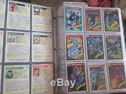 1990 Marvel Stan Lee card set New