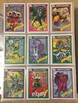 1990 Marvel Universe Series 1 Trading Cards COMPLETE BASE SET, #1-162 NM/M Impel