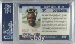 1990 Pro Set Draft Emmitt Smith #685 PSA 10 Rookie HOF