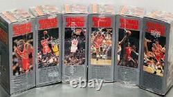 1991-92 Upper Deck Michael Jordan Locker Series 1 6 sealed Set