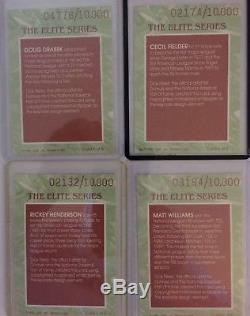 1991 Donruss Elite Complete Set (includes Ryne Sandberg Autograph)
