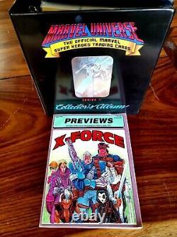 1991 Marvel Universe 2 Master Set +STAN LEE AUTO+SEALED BOX+VARIANT SET+BINDER