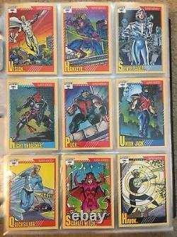 1991 Marvel Universe Series 2 Trading Cards COMPLETE BASE SET, #1-162 NM/M Impel