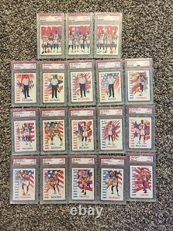 1991 Skybox USA Set IMPOSSIBLE Clyde Drexler Send Away Pop 7 ALL PSA 10 Jordan