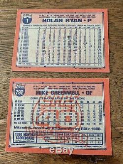 1991 topps desert shield COMPLETE SET 1-792. GRADED Chipper Jones