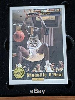 1992 93 Classic Draft Picks Gold Set Shaquille ONeal Shaq Autograph 1897/8500
