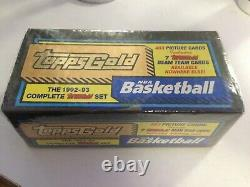 1992-93 Gold NBA Basketball Topps Gold Complete Factory Set Sealed