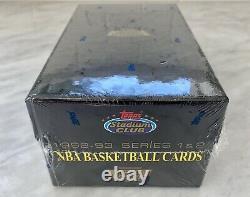 1992-93 Topps Stadium Club Basketball Factory Set Sealed Beam Team Members Only