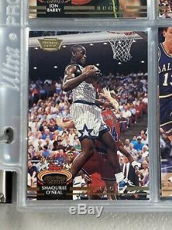 1992-93 Topps Stadium Club Members Only Set 1-400 & Beam Team Jordan Shaq /12000