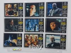 1992 Batman Returns Collector Cards Trading Cards All Inserts & Folder RARE