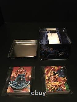 1992 Marvel Masterpieces Box Complete Set Series 1 Skybox + Metal Collectors Tin