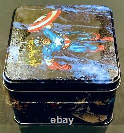 1992 Marvel Masterpieces Sealed Tin 35,000 Lost Ladies & Spectra-Etch Chase Set