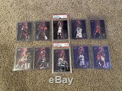 1993-94 Fleer Ultra MICHAEL JORDAN Scoring Kings Set Of 10 Cards! 2 Graded