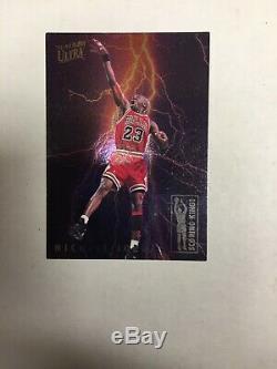 1993-94 Fleer Ultra Scoring Kings Michael Jordan #5 of 10 VHTF