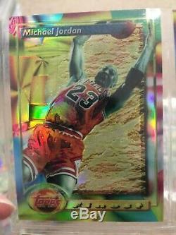 1993-94 Topps Finest Basketball Refractor Complete Set Jordan, Shaq, Penny, Webber