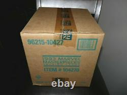 1993 Marvel Masterpieces Series 2 Factory Sealed 20 Box Case! Extremely Rare