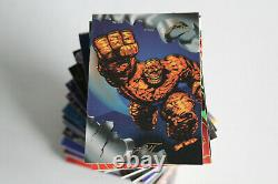 1994 Marvel Flair Annual Inaugural Edition Complete Base Card Set #1-150