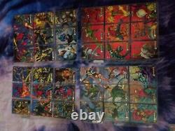 1994 Marvel Fleer Amazing Spiderman 12 Suspended Animation Insert Card Set Venom
