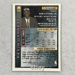 1995-96 Topps Finest Complete Set KEVIN GARNETT RC JORDAN withcoating 1-252