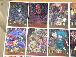 1995 Fleer Marvel Metal 138 Base Foil Card Set! Venom Avengers Spiderman X-men