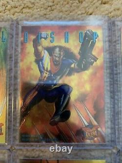 1995 Fleer Ultra Marvel X-Men COMPLETE SINISTER OBSERVATIONS INSERT 10 CARD SET