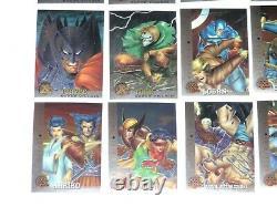 1995 Fleer Ultra X-men Chromium 100 Card Set Marvel Haunted Mansion Deadpool