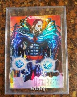 1995 Marvel Masterpieces Complete base Set 1-151+1 Holo Flash+canvas Chase cards