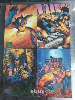 1995 Marvel Masterpieces MASTER Mirage E-Motion Holoflash Canvas Promo