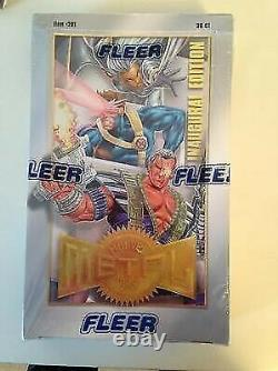 1995 Marvel Metal Inaugural Edition Factory Sealed Card Box Mint