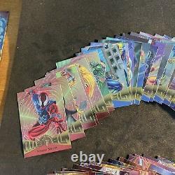 1995 Marvel Metal Trading Cards COMPLETE BASE SET #1-138 Fleer