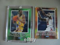 1996-97 SkyBox EX-2000 Complete Set Kobe Bryant RC Rookie Michael Jordan 1-82