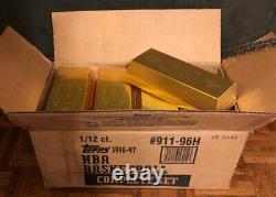 1996-97 Topps Basketball GOLD BAR Set (FASC) PSA 10 Kobe RC sold for $10,995