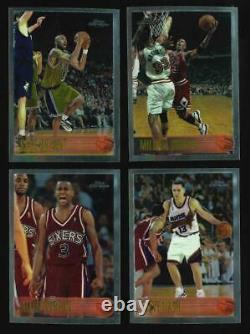 1996-97 Topps Chrome Basketball Complete Set Michael Jordan, Kobe Bryant Rookie