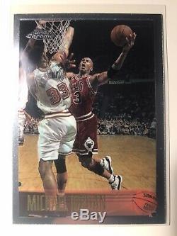 1996-97 Topps Chrome Complete Set Kobe Bryant Rookie Jordan Iverson Bulls