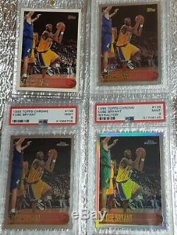 1996 Kobe Bryant Rookie Card Full Set Total 133 Lot Rc Best Invest