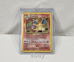 1996 Pokemon Base Set Unlimited TCG Charizard 4/102 Holo Rare Trading Card LP