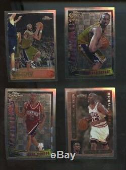 1996 Topps Chrome Complete Set 1-220 Bryant Rc with Youthquake/Pro Files/En Fuego