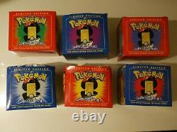 1999 Burger King Pokemon 23K Gold-Plated Trading Card Set LTD Edition New Sealed