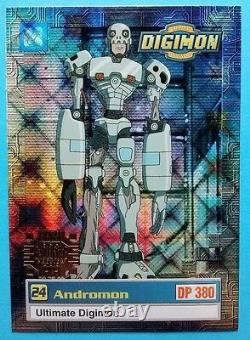1999 Digimon Exclusive Preview Series #1 GOLD STAMP Holo Set U1-U8 NM/MT