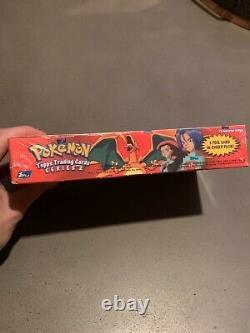 1999 Pokemon Topps Trading Cards Booster Box Set 2556 NEW Sealed 11 packs
