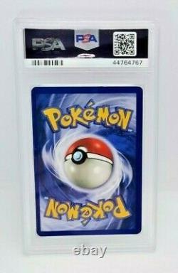 1999 Pokemon Trading Card Fossil Set 10 Lapras PSA 7 Graded