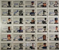 1999 Upper Deck Century Legends Epic Signatures Complete Set