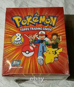 1st Edition Base Set 1999 Pokemon Topps Trading Cards Factory Sealed Booster Box