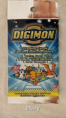 2 x English Digimon booster sets(24), trading card, Series 1, 1999, animated