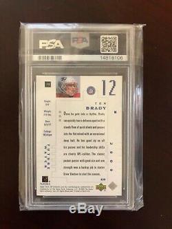 2000 SP Authentic PSA 10 Tom Brady RC