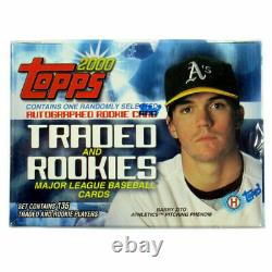 2000 Topps Traded Rookie Factory Sealed Set 1 AUTO (Miguel Cabrera PSA BGS 10)