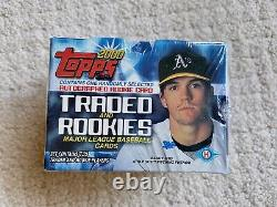 2000 Topps Traded & Rookies Factory-sealed 135-card Set Plus One Autographed Rc