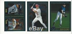 2001 Topps Chrome Traded Baseball Complete 266 Card Set Ichiro Pujols Rookie RC