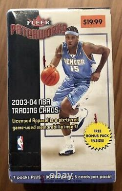 2003-04 Topps Basketball Set Factory Sealed Box Lot (7) Lebron James Rookie