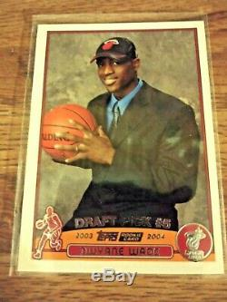 2003-04 Topps COMPLETE Set LeBron James Dwyane Wade Carmelo Anthony ROOKIE